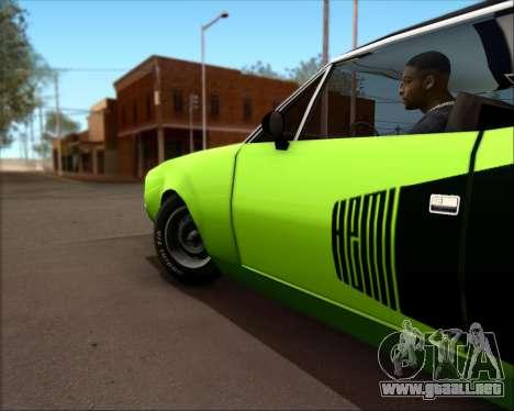 Clover Barracuda para la visión correcta GTA San Andreas