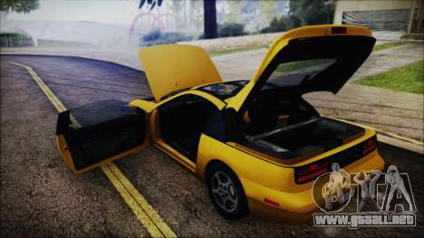 Nissan Fairlady Z Twinturbo 1993 para la vista superior GTA San Andreas