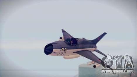 MIG-21MF URSS para GTA San Andreas