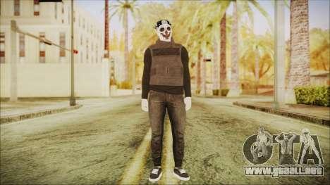 GTA Online Skin Random 2 para GTA San Andreas segunda pantalla