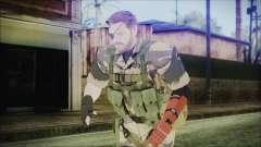 MGSV Phantom Pain Snake Normal Tiger para GTA San Andreas