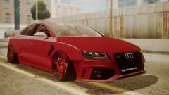 Audi RS7 X-UK L3D para GTA San Andreas