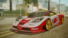 McLaren F1 GTR 1998 Lemans McLaren para GTA San Andreas