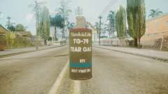 GTA 5 Tear Gas para GTA San Andreas