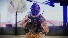 MW2 Russian Airborne Troop Desert Camo v4 para GTA San Andreas
