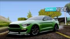 Ford Mustang Shelby GT350R 2016 No Stripe para GTA San Andreas