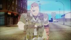 MGSV Phantom Pain Snake Normal Square para GTA San Andreas