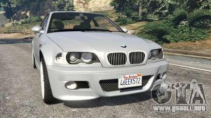 BMW M3 (E46) para GTA 5