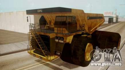 Dump Truck para GTA San Andreas