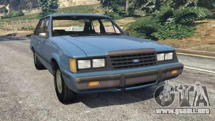 Ford LTD LX 1985 para GTA 5