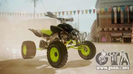 Honda TRX450 Quad para GTA San Andreas