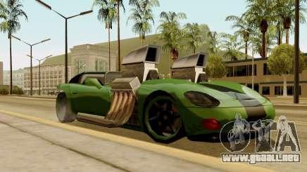 Banshee Twin Mill III Hot Wheels para GTA San Andreas