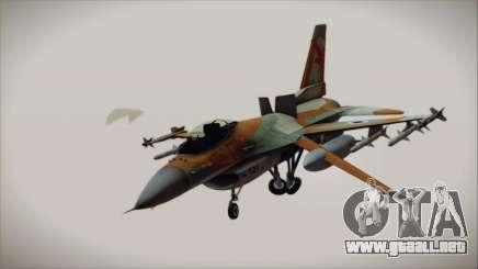F-16C Block 25 Israeli Air Force para GTA San Andreas