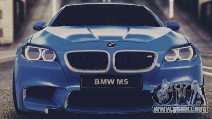 BMW M5 F10 Stock Single para GTA San Andreas