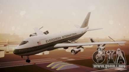 Boeing 747-200 Evergreen International Airlines para GTA San Andreas