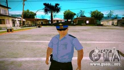 El empleado del Ministerio de Justicia v2 para GTA San Andreas