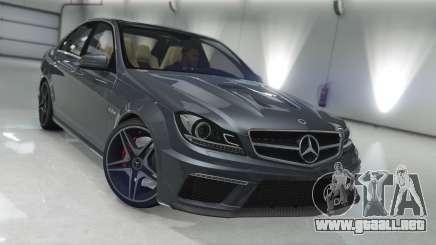 Mercedes-Benz C63 AMG v1 para GTA 5