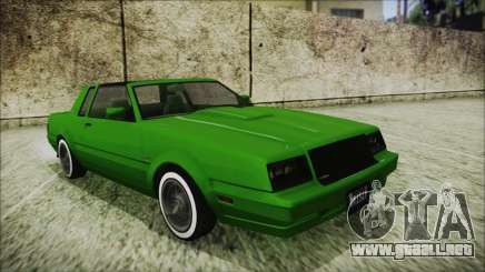 GTA 5 Willard Faction Custom para GTA San Andreas