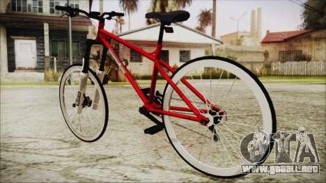 Scorcher Racer Bike para GTA San Andreas left