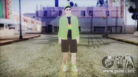 GTA Online Skin 44 para GTA San Andreas segunda pantalla