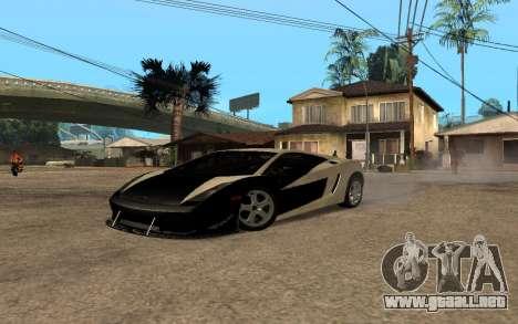 Lamborghini Gallardo Tunable v2 para GTA San Andreas