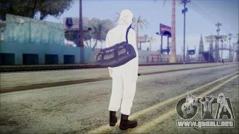 GTA 5 Online The Heist Gasmask Yellow para GTA San Andreas tercera pantalla