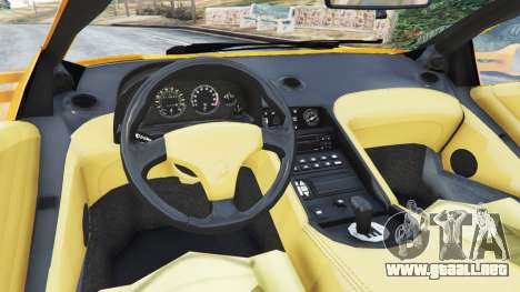 GTA 5 Lamborghini Diablo Viscous Traction 1994 vista lateral trasera derecha