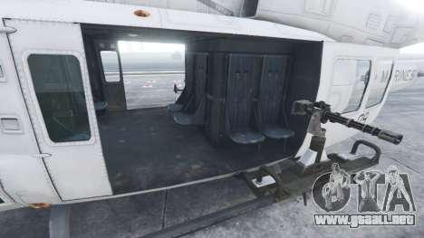 GTA 5 Bell UH-1Y Venom v1.1 sexta captura de pantalla