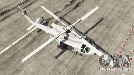 GTA 5 Bell UH-1Y Venom v1.1 cuarto captura de pantalla