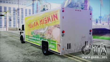 Indonesian Benson Truck Not In Real Life Version para GTA San Andreas left