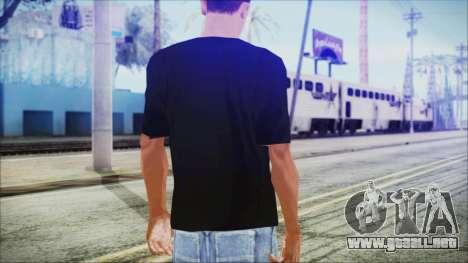 Santa T-Shirt para GTA San Andreas tercera pantalla
