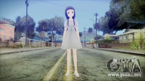 Yui Sword Art Online para GTA San Andreas segunda pantalla