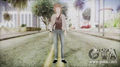 Life is Strange Episode 4 Max para GTA San Andreas segunda pantalla