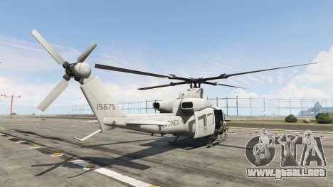 GTA 5 Bell UH-1Y Venom v1.1 tercera captura de pantalla