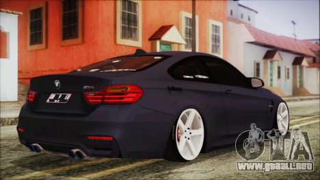 BMW M4 Stance 2014 para GTA San Andreas left