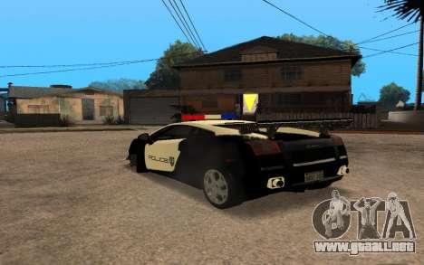 Lamborghini Gallardo Tunable v2 para la visión correcta GTA San Andreas