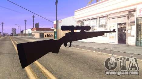 Remington 700 HD para GTA San Andreas tercera pantalla