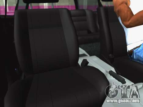 Volkswagen Passat B3 Variant para visión interna GTA San Andreas