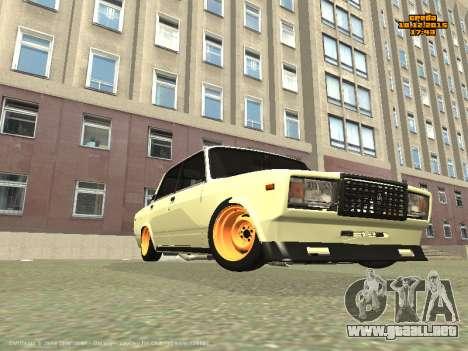 VAZ 2107 Coche para GTA San Andreas