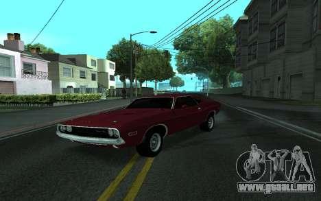 Dodge Challenger Tunable para GTA San Andreas