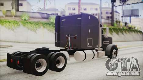 Peterbilt 378 2004 Ducky para GTA San Andreas left