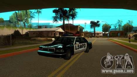ENB Settings Janeair 1.0 Light para GTA San Andreas sexta pantalla