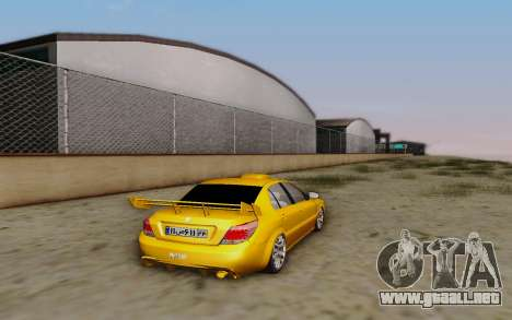 Ikco Dena Full Tuning para GTA San Andreas left