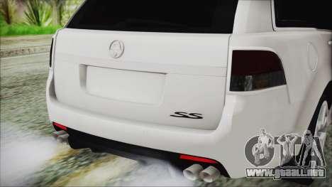 Holden Commodore VE Sportwagon 2012 para GTA San Andreas vista hacia atrás