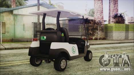 GTA 5 Golf Caddy para GTA San Andreas left