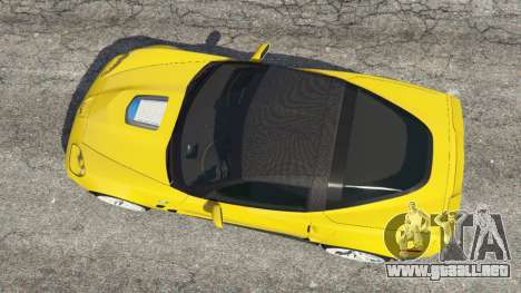 GTA 5 Chevrolet Corvette ZR1 vista trasera