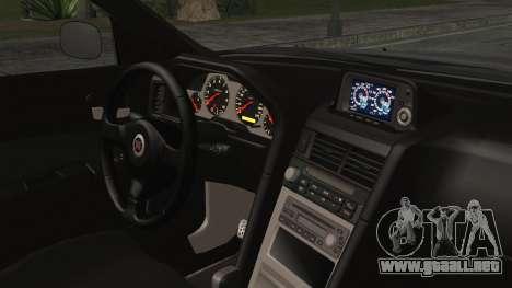 Nissan Skyline Nismo Body Kit para la visión correcta GTA San Andreas