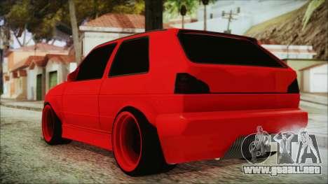 Volkswagen Golf 2 Ghetto Cult para GTA San Andreas left