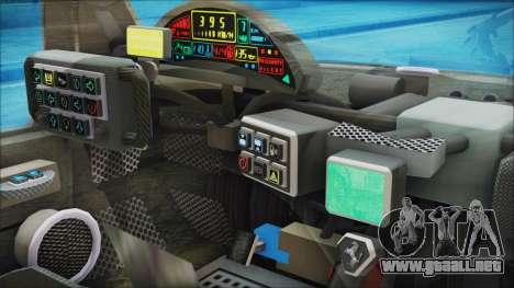 Ferrari P7 para la visión correcta GTA San Andreas