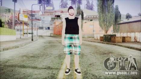 GTA Online Skin 39 para GTA San Andreas segunda pantalla